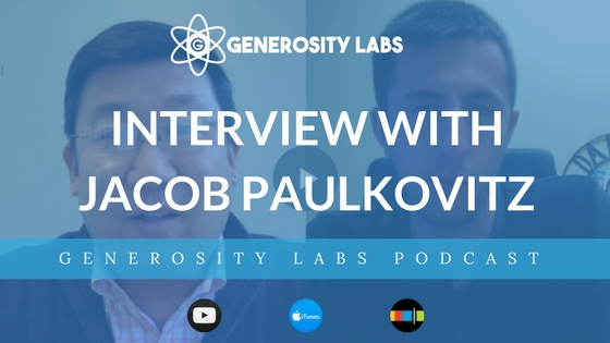 Generosity Labs Podcast with Jacob Paulkovitz of Hope Fellowship