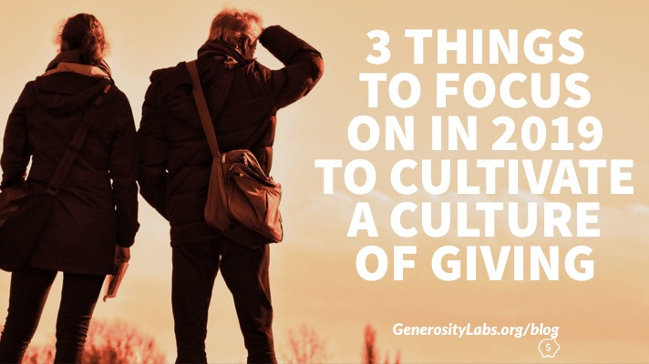 3 Things Churches Need To Focus On For Giving Growth in 2019