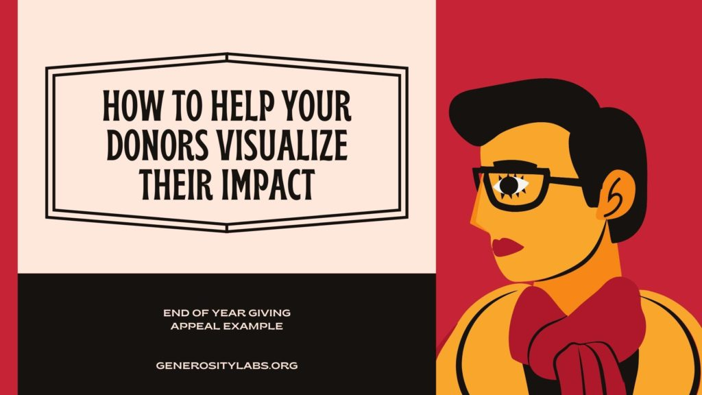 how to help donors visualize their impact
